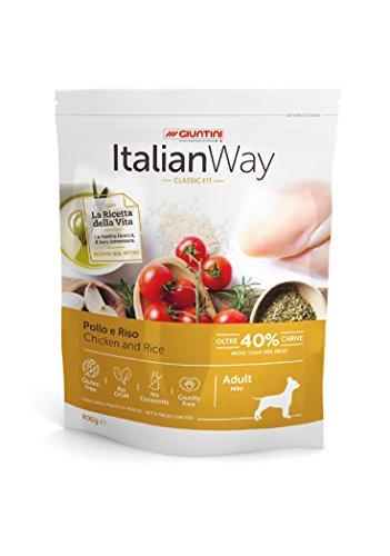 Italian Way Cibo per Cani Classic Fit Pollo e Riso - Adult - Mini - 1.5 kg