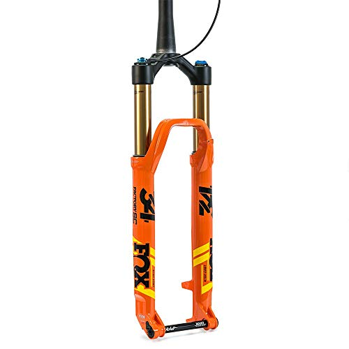 Fox Racing Shox 32 Float SC 29 FIT4 Afstandsbediening Factory Boost Vork Glanzend Oranje, 100mm, 51mm Offset, Kabolt