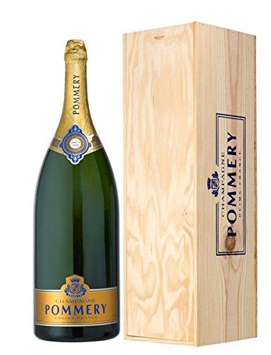 Pommery Vintage 1995 Champagner Methusalem in Holzkiste 12,5% 6l Flasche