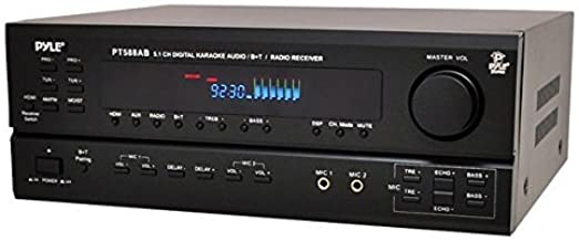Wireless Bluetooth Power Amplifier System - 420W 5.1 Channel Home Theater Surround Sound Audio Stereo Receiver Box w/ RCA,...