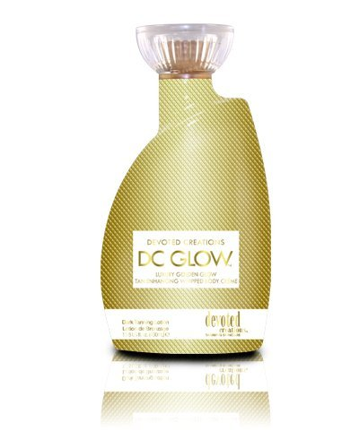 DEVOTED CREATIONS GLOW DARK TANNING LOTION WHIPPED BODY CREME 400ML -...
