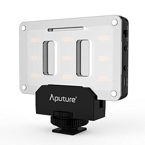 luz led dslr fabricante Aputure