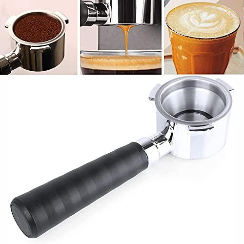 Portafiltro de café espresso 51 mm para máquina de café DeLonghi EC680 EC685, cesta de filtro de taza de acero inoxidable