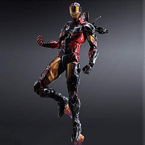 YXCC PA to iron man action map War Machine Statue Joint movable doll ornament