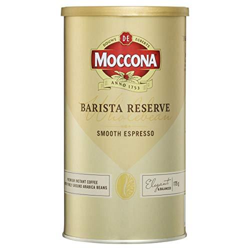 Moccona Coffee Wholebean Barista Reserve Smooth Espresso, 175g