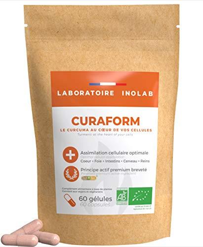 Cúrcuma Bio Patentada CurQfen® sin aditivos | Asimilación de la curcumina superior...