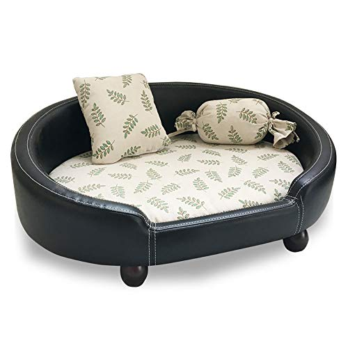HEISHOP Pet Bed removably Washes Sofa Supplies beds for Pets in Four...