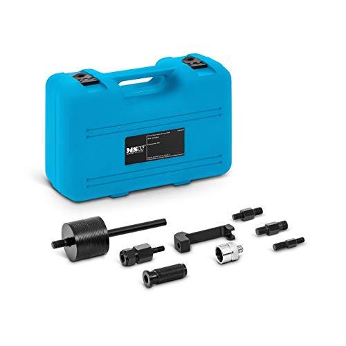 MSW MSW-IED-01 Dieselinjektor Abzieher Injektor Auszieher Einspritzdüsen Werkzeug 9 Teile