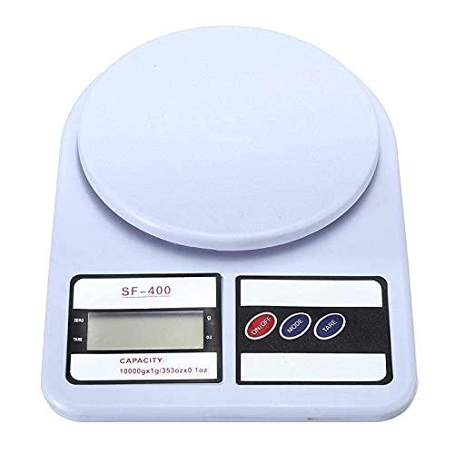 TEPET Báscula de Alimentos de Cocina Pesaje de Cocina Básculas Digitales Inteligentes portátiles Básculas Postales electrónicas LED Báscula de Peso de Paquete de envío de Comida de Cocina case