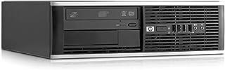 Hp Elite 8300 - Ordenador de sobremesa (Intel Core i5-3470, 8GB de RAM, Disco HDD de 500GB, Lector DVD, Windows 10 PRO ES 64) - Negro (Reacondicionado)