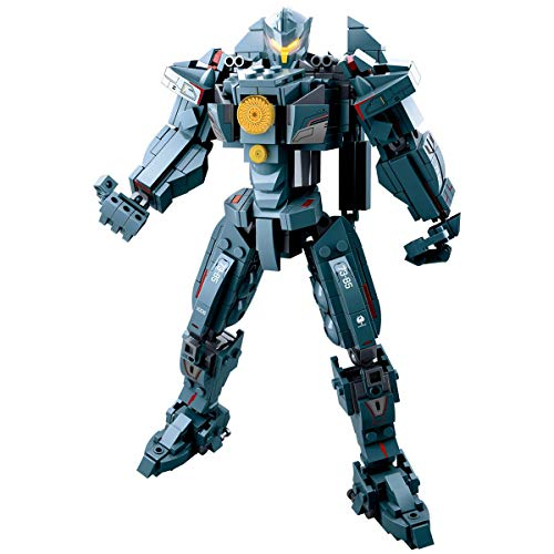 LionMoc Moc Creator Mech - 'Pacific Rim' DIY Mecha Building Block Bricks Machine Toy Compatible with Lego Building Set (Gipsy Avenger)