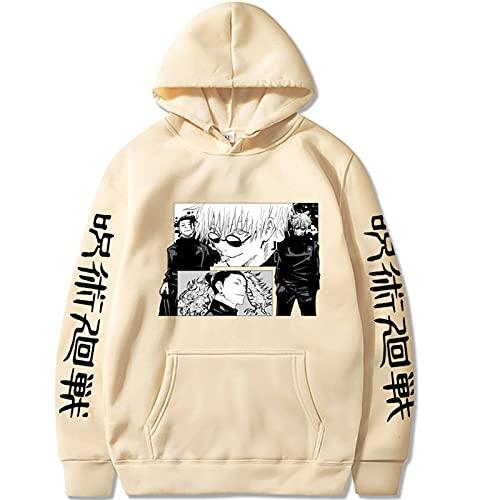 2021 NUEVOS Hombres y mujeres Jujutsu Kaisen Hoodie -3D Impresión Fushiguro Megumi Cosplay Sweater Sweater de manga larga Pullover Hoodie Hombres y tapa de las mujeres (Color : 3u, Size : M)