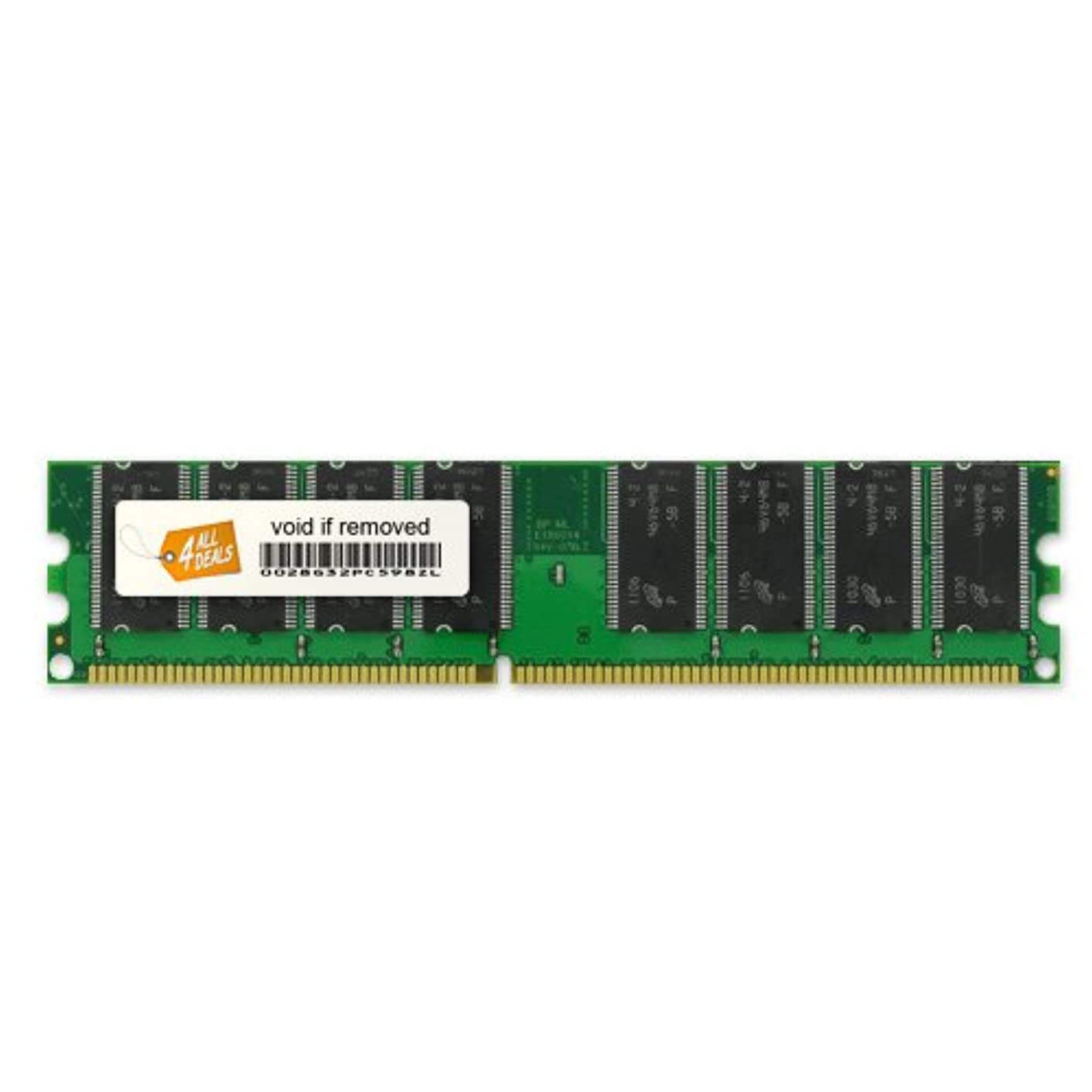 4AllDeals 2GB Kit (2x1GB) Memory RAM Upgrade for eMachines T3302 (DDR-400MHz 184-pin DIMM)
