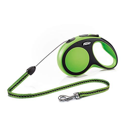 flexi New Comfort S Seil 8 m grün für Hunde bis 12 kg