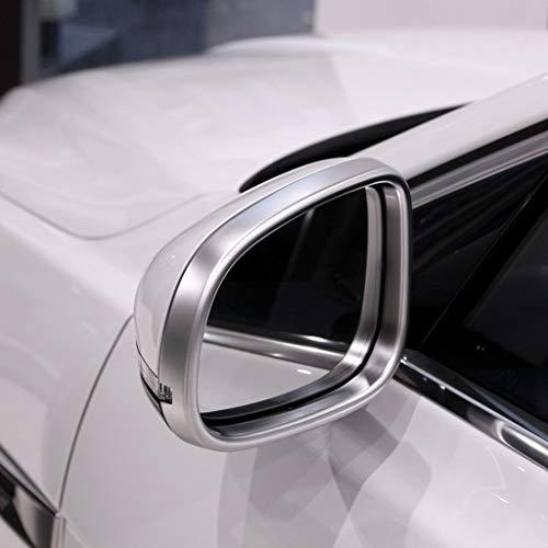 Autocollant de Garniture de Cadre de Miroir de rétroviseur côté Plastique extérieur en Plastique ABS pour XE 2015-2016, pour XF 2011-2016, pour XJ XJL 2010-2016