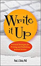Write It Up: Practical Strategies for Writing and Publishing Journal Articles (APA Lifetools: Books for the General Public) PDF