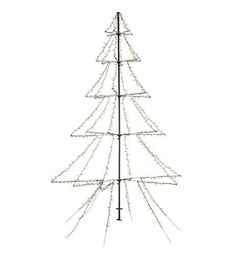 Lumineo LED Weihnachtsbaum Lichterbaum Tannenbaum Outdoor 200 cm 420 LED`s