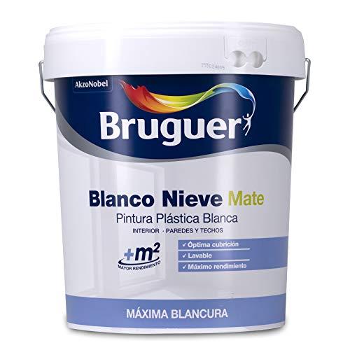 Bruguer Blanco Nieve Pintura para paredes 4L
