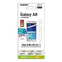 エレコム Galaxy A8/液晶保護フィルム/指紋防止/光沢