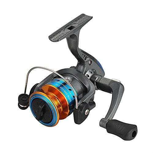 HSYSA CK200A Tonos de Pesca de la Serie Pequeño Carrete Frontal Drag Spinning Wheel 5,2: 1 Metal 170g Peso Bobina de Pesca (Bearing Quantity : 3)
