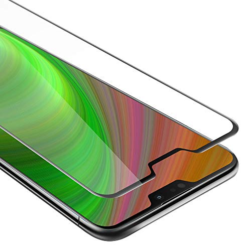"""Cadorabo Pellicola Protettiva per ASUS ZenFone Max PRO M2 (6,3"""" Zoll) in Trasparente con Nero - Vetro di Protezione Temprato Blindato (Tempered) Schermo Intero per Display con 3D Touch e 9H"""