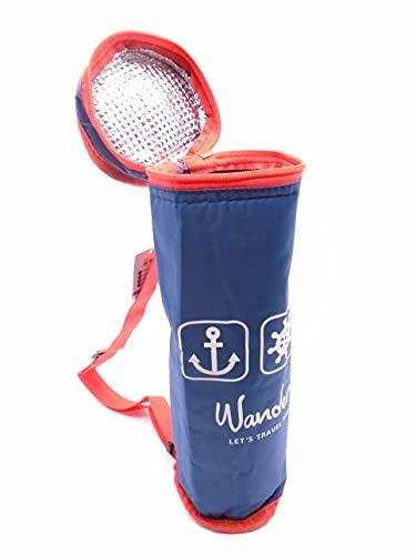 Azul 2.5L Total Hidalgo 1.5l Botellas Enfriador Flexible portátil para Playa Camping Bolsa térmica Camping Enfriador Armada Puerto pequeño Camuflaje Militar Marina