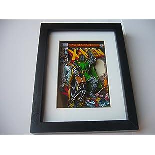 Uncanny X-Men Comic Book 3D Diorama Shadow Box Art 9 x 7 (issue 145):Thecricketmaster