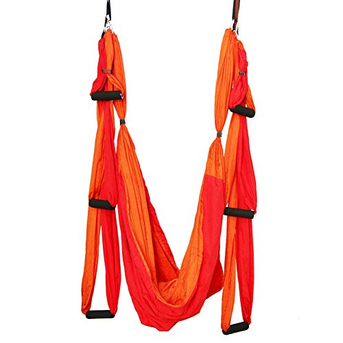 Read About ELEPTION Strong Antigravity Yoga Hammock/Sling/Inversion Tool for Air Yoga Inversion Exer...
