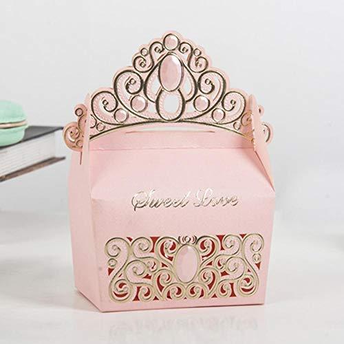 Süssigkeiten Box Geschenkbox Hochzeit Wedding Favors Geschenkboxen 50 Stück Hohle Aus Handwerk Papier Hochzeit Geschenkbox Für Süßigkeiten Süßigkeiten Mit Bändern