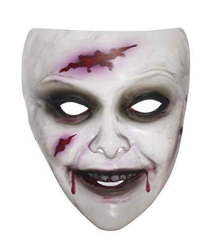Forum Novelties Transparent Women's Zombie Mask