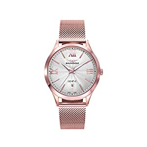 Sandoz – Reloj Acero Brazalete IP Rosa Sra Elle Sa – 81366-03