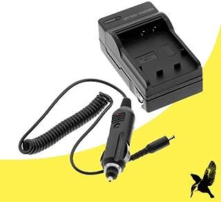 Halcyon Brand 600 mAH Charger with Car Charger Attachment Kit for Panasonic DMW-BCJ13 and Panasonic Lumix DMC-LX5, Lumix DMC-LX7 Digital Cameras