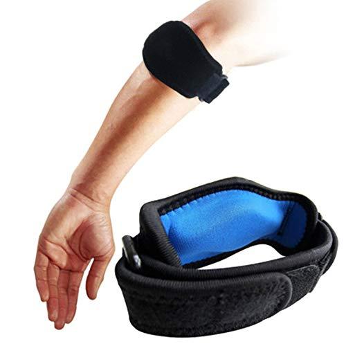 Bandage Tennisarm Ellenbogen Epicondylitis Spange für Schmerzlinderung für Golfer/Tennisspieler(2 Stück)