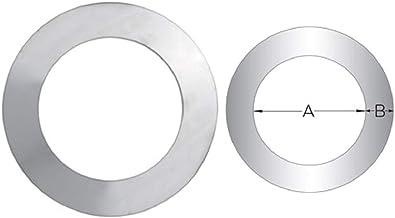 Rosone coprimuro in acciaio inox per canna fumaria (DN 100)