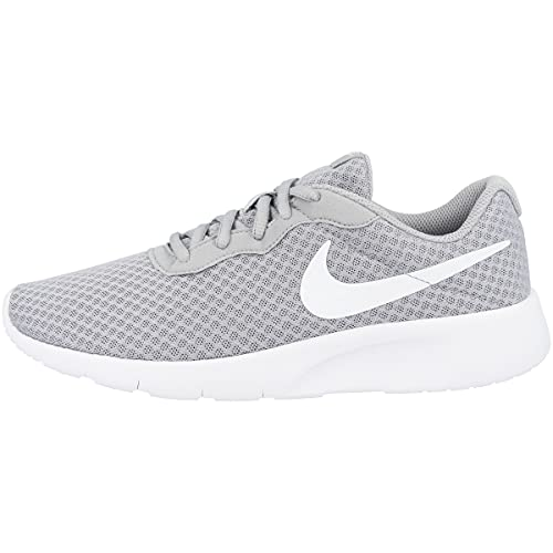 Nike Tanjun (Gs), Scarpe Running Bambino, Multicolore (Wolf Grey/White White), 38.5 EU