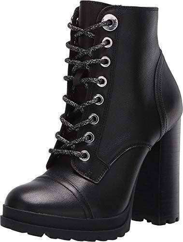 ALDO Women's Marille High Heel Ankle Boot, Black, 8