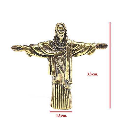 Bronze Jesus Christ The Redeemer Statue Sculpture Figure Religious Decor