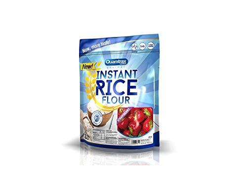 Quamtrax Gourmet Harina de arroz instantánea Sabor Fresa - 2000 gr