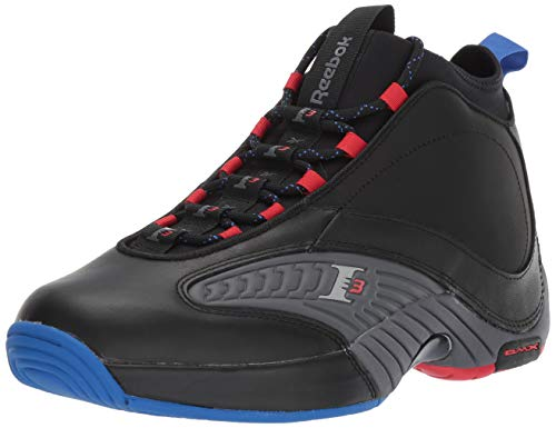 Reebok Men's Answer IV.V Cross Trainer, Black/ash Grey/Primal red/Vital Blue, 11 M US