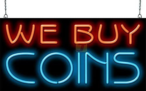 Popular products We Buy Coins Sign Neon Nashville-Davidson Mall