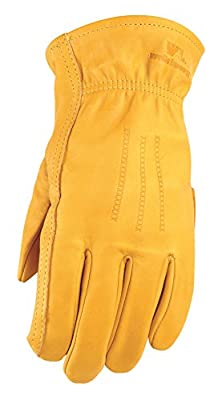 Wells Lamont Premium Leather Work Gloves - Large / Grande