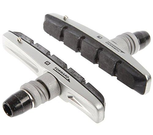 Shimano Bremsschuhsatz S70CBRM770 Bremsschuhe, schwarz, 60 mm