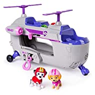 With the rescue helicopter and your two Paw Patrol characters, you are ready for all upcoming missions and adventures There is room for six puppies on board (other toys sold separately) Requires 2 x AAA batteries (demo battery included) Suitable for ...