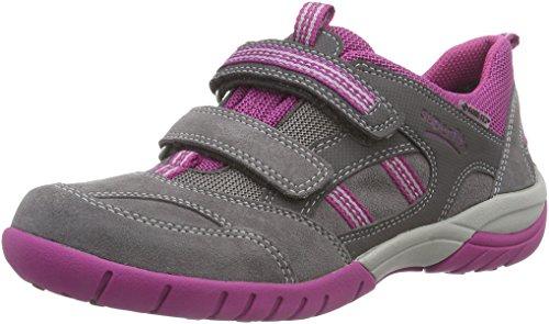 Superfit SPORT3 500146, Mädchen Sneakers, Grau (STONE KOMBI 06),  37 EU