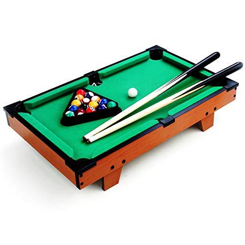 Juego de Billar Juguete mesa de billar Mesa de escritorio en miniatura mesa de billar fijado for adultos Tabla niños mini-piscina de billar mesa de juguete for Ministerio del Interior Mesa de