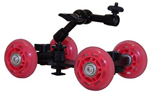Luxburg Mini-Dolly carrello videocamera
