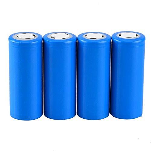 yfkjh 40 Unids/Lote 3.2 V 3000 Mah 2000 Ciclos Litio CilíNdrico Recargable, BateríA De Fosfato De Hierro Lifepo4 Ifr26650