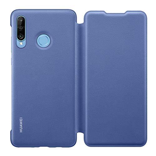 HUAWEI Booklet Wallet Cover P30 Lite, Blau