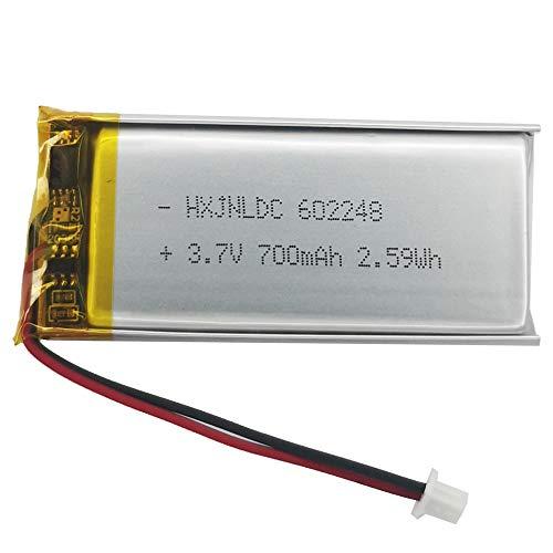 602248 Batería de 3.7v 700mAh para Sena SMH10 SMH10R SMH10D SMH10-11 SR10 Reemplazo de la batería del Auricular Bluetooth para Motocicletas Auricular Bluetooth Intercomunicador Batería incorporada