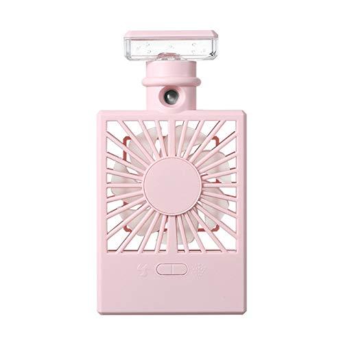 LYKYL Botella de Perfume Mini Verano LED de Aire del refrigerador del acondicionador Aerosol de la Niebla USB Ventilador de refrigeración